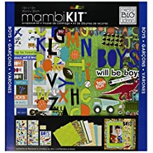 me & my BIG ideas 12-Inch x 12-Inch Scrapbook Page Kit, Boys Will Be Boys