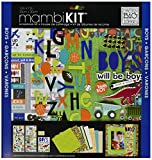 #8: me & my BIG ideas Scrapbook Page Kit, Boys Will Be Boys, 12-Inch by 12-Inch
