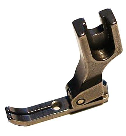 Prensatelas angosto para maquina de coser industrial, pie de cremallera, izquierdo y derecho.