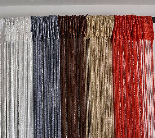 Hsylym Beaded String Curtain With Dew Drop Plastic Beads