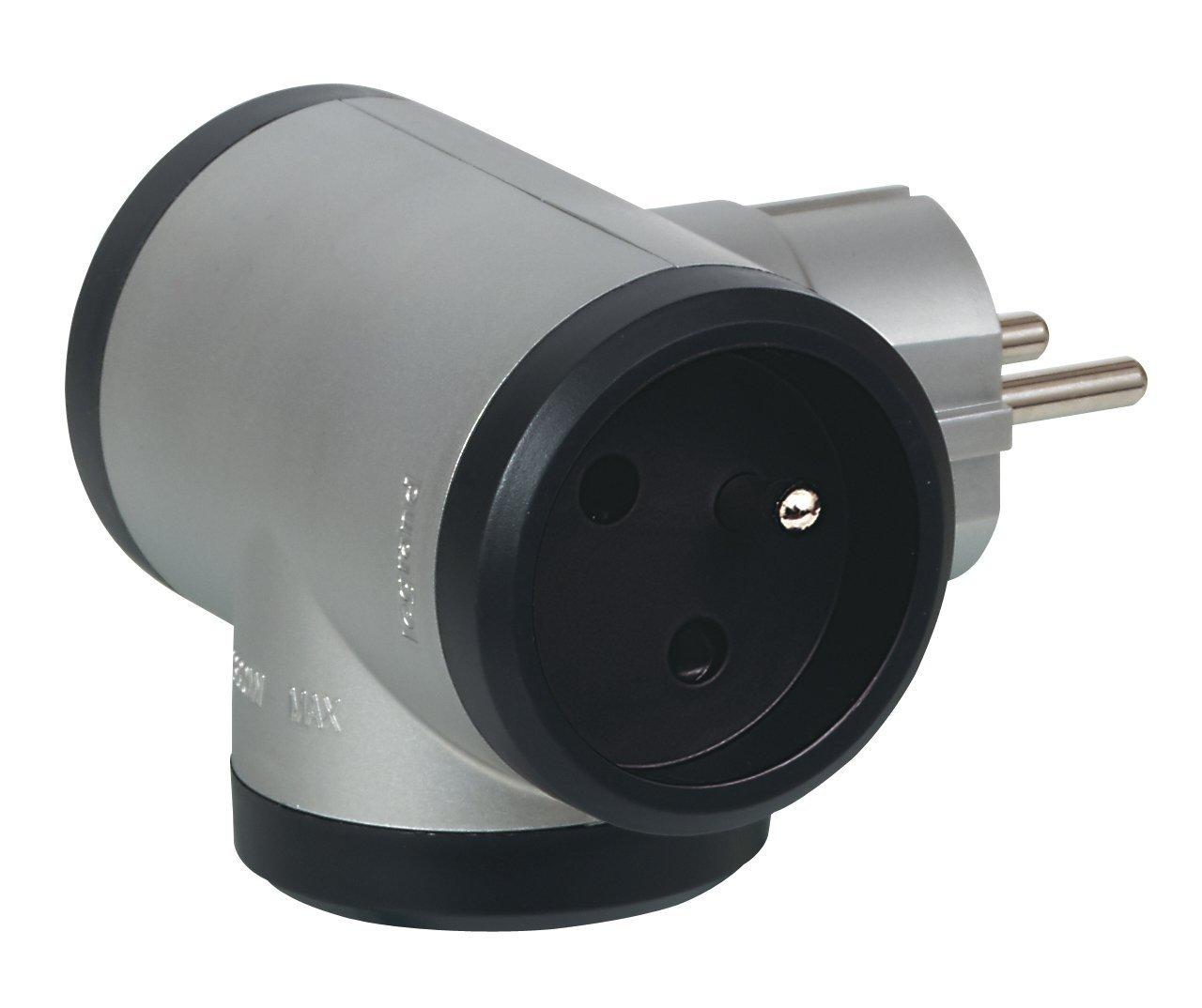 50 Hz 1x A//w boutons Jardin-prises pilier en aluminium 3x schutzkonaktsteckdose 230 V