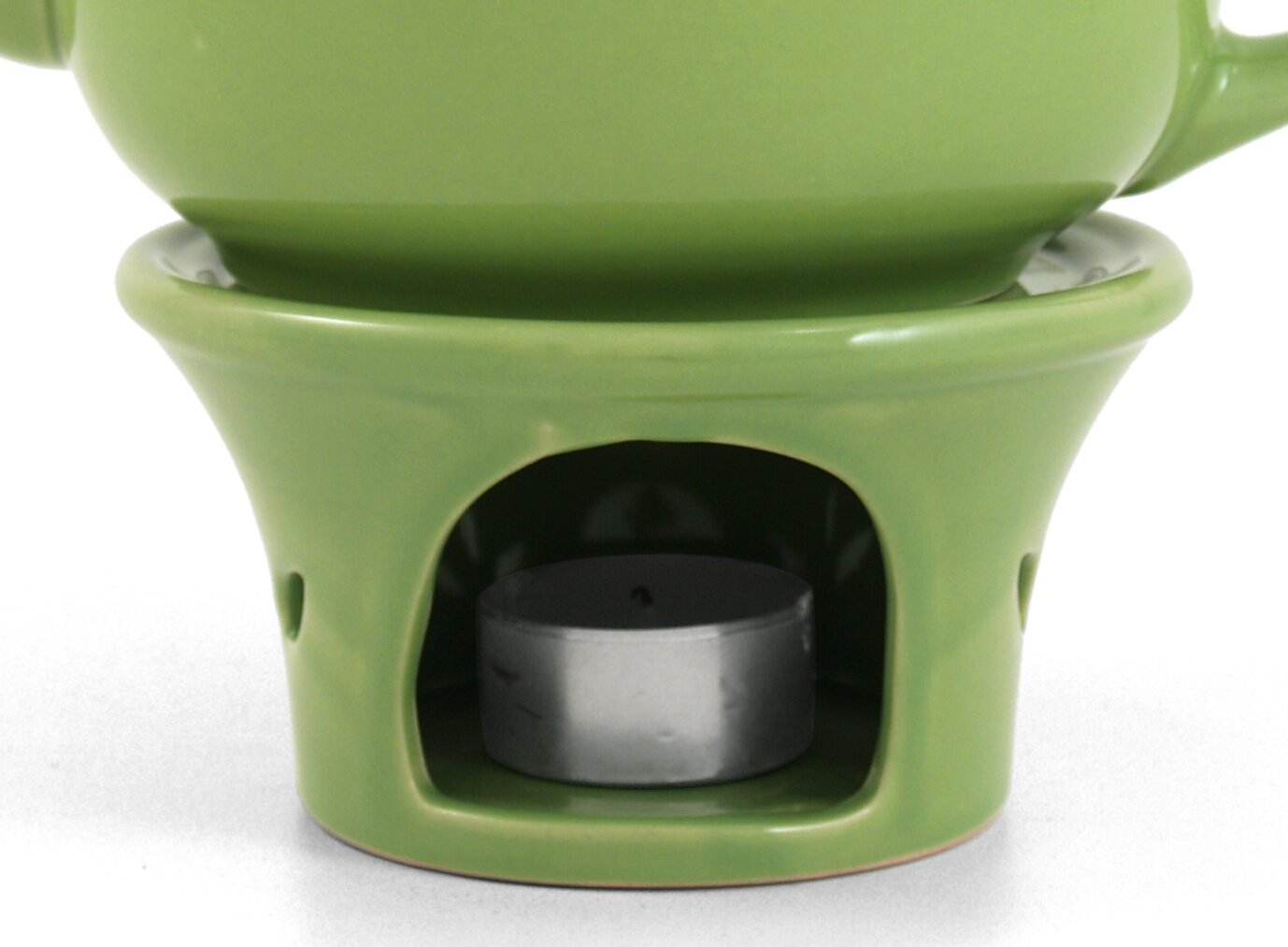 Metropolitan Tea Lime Green Ceramic Teapot Warmer