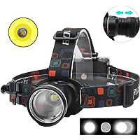 Boruit RJ-2166 1000 Lumens T6 LED Headlamp with White Light,3 Modes