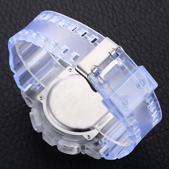 Rcool Relojes suizos relojes de lujo Relojes de pulsera Relojes para mujer Relojes para hombre Relojes deportivos,Reloj deportivo silicona banda reloj de ...