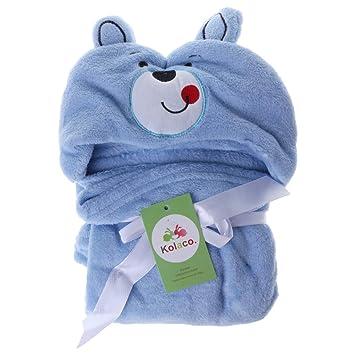 """exing toalla de baño bebé protectora mignonne""""de dibujo animado Cape essuyer Cape toalla de"""