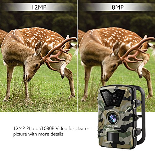 Review AKASO 12MP Trail Camera
