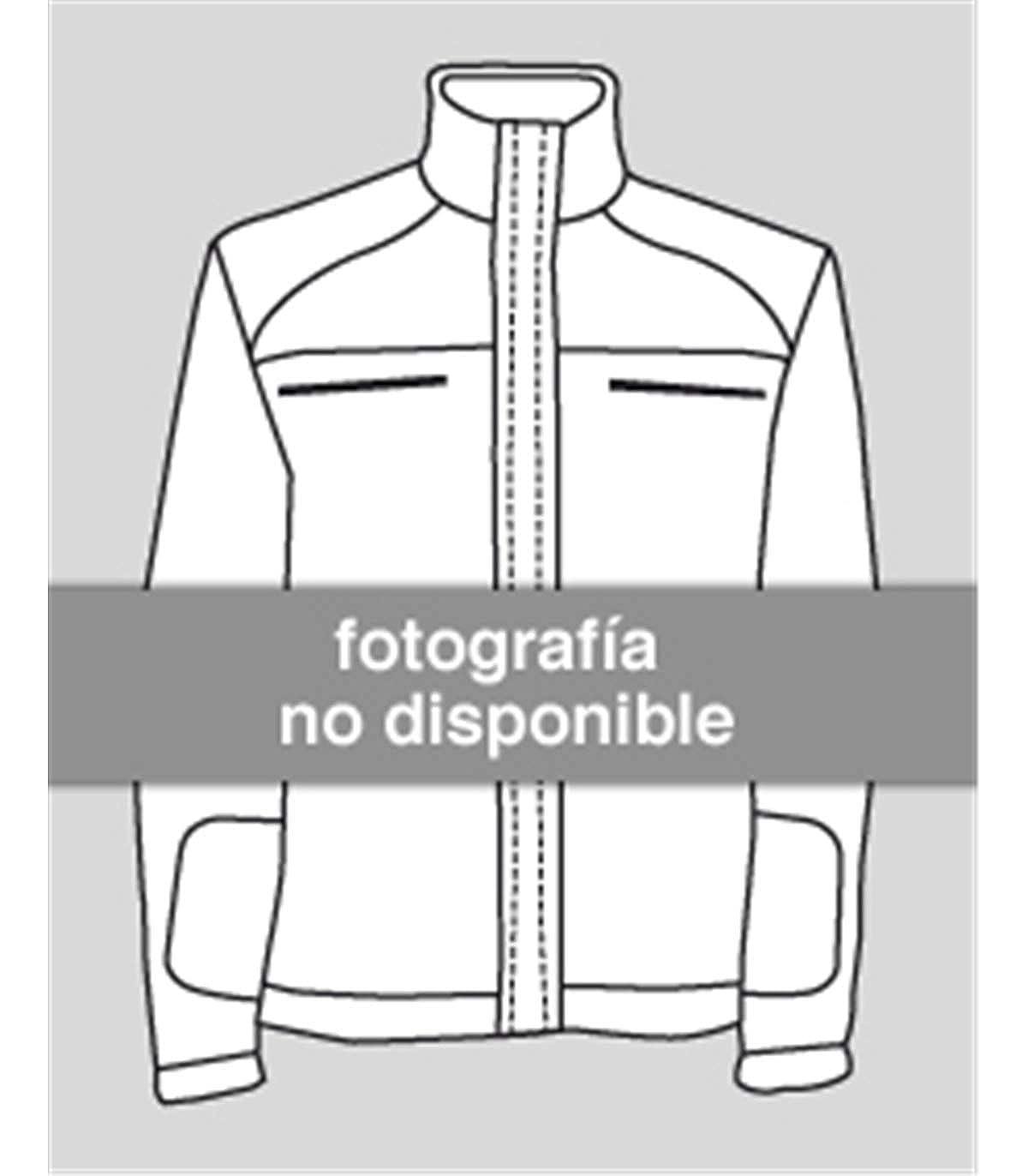 VELILLA Polo Bicolor Manga Corta Alta Visibilidad Naranja Flúor ...