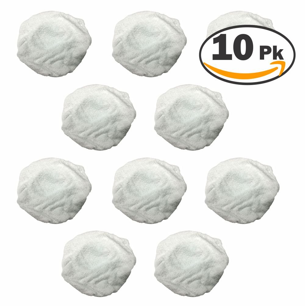 Ryobi 019661001035 Terry Cloth Bonnet for 10 in Buffers 10 Pack