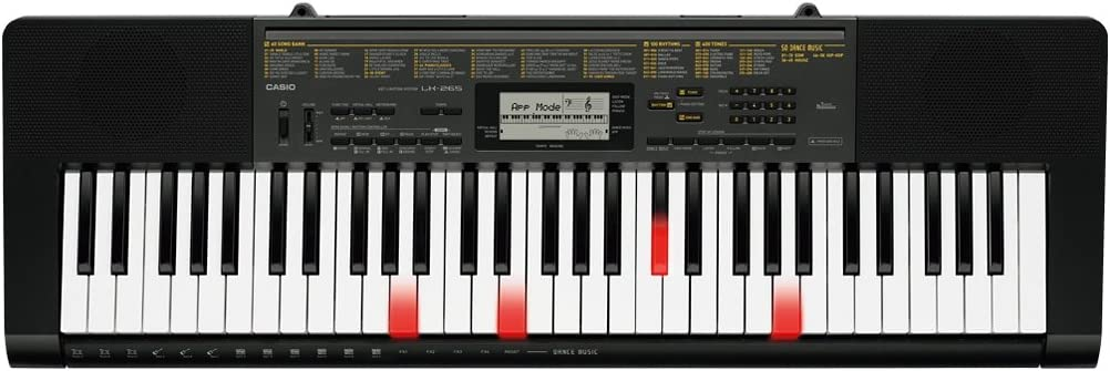 Casio LK-265 61-Key Lighted Portable Touch Sensitive Keyboard