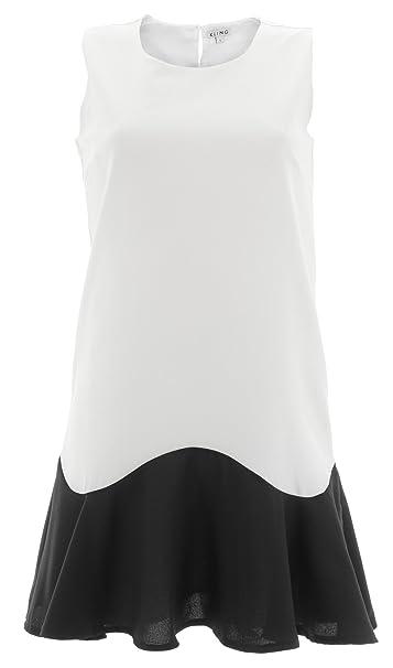 KLING - Vestido - para Mujer Blanco X-Small