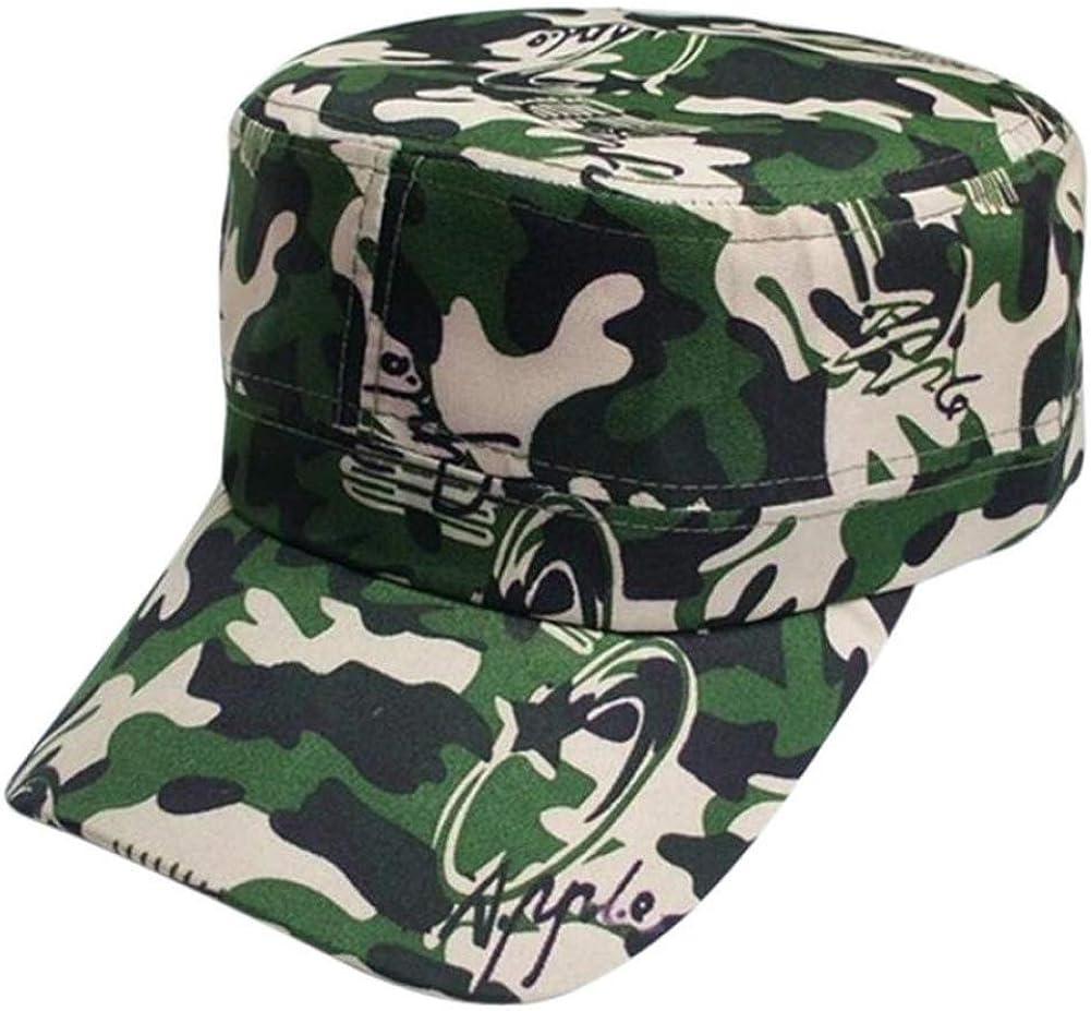 bredLily Woweile #5001 Hat Cap Hip Hop Dance Hat Cap Men Women Camouflage Outdoor Climbing Baseball Cap