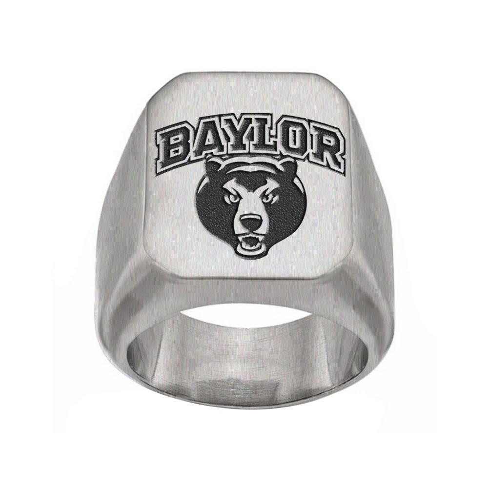 College Jewelry Baylor Bears Signet Style Ring