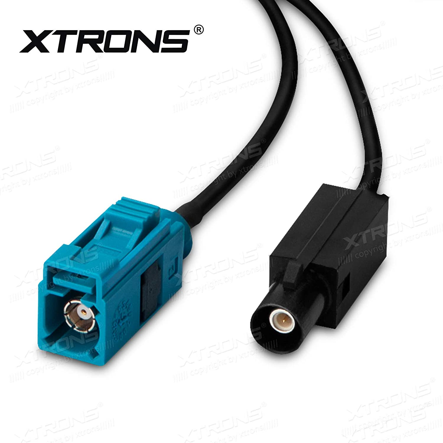 XTRONS 6 Meter Extension Antenna Aerial Adapter Cable Fakra Z Jack//Female to Fakra Z Plug//Male