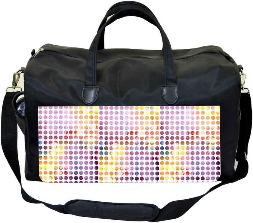 Tie Dye Polka Dots Sports Bag