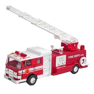 Échelle du feu de camion en alliage de voitures Modèle Toy Cars