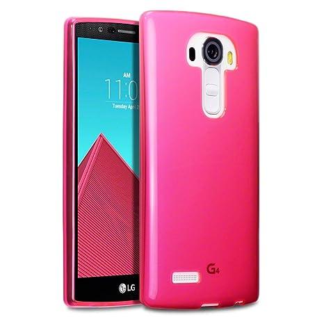 Funda LG G4, Terrapin carcasa de TPU con tapa para ...