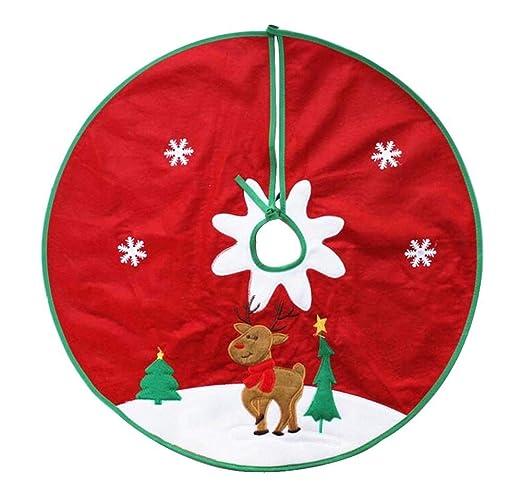 24station [J] Precioso árbol de Navidad Falda Árbol de Navidad ...