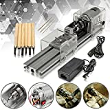 LB-01 Mini Lathe Beads Machine Woodworking DIY Lathe Polishing Drill Rotary Tool DC 24V