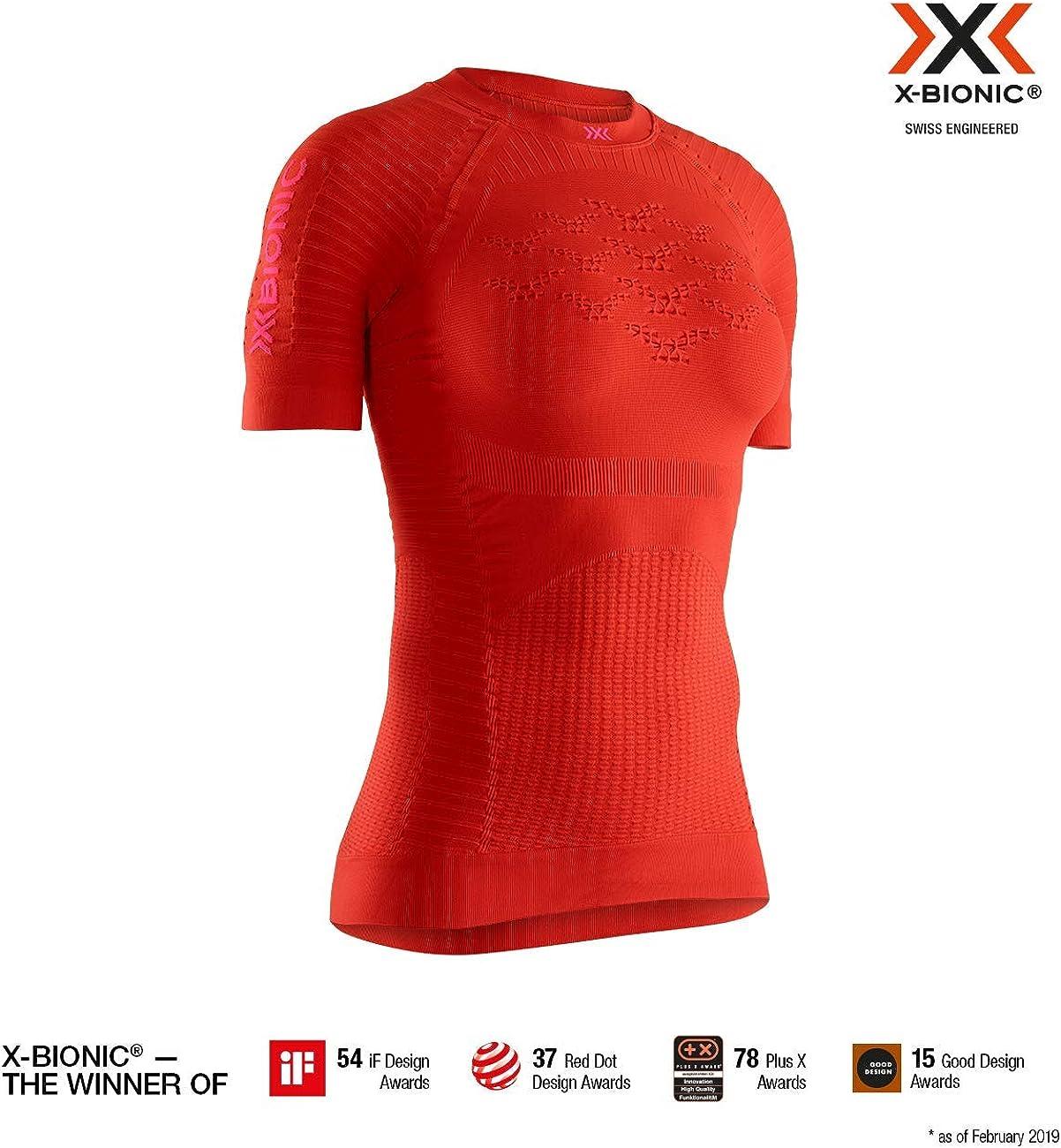 X-Bionic M/C Effektor G2 Run - Camiseta Mujer: Amazon.es: Ropa y accesorios