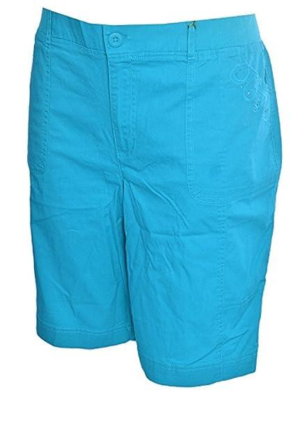7db9ce0bf0a Gloria Vanderbilt Carla Embellished Bermuda Shorts (8