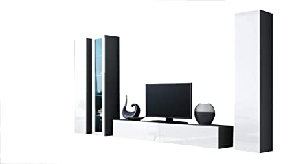 Charmant Seattle 4G Modern Wall Unit/Entertainment Center/Hanging Furniture/Tv  Cabinet For Any