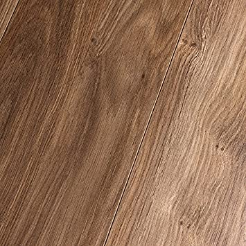 Inhaus Elements Gunstock Oak 7mm Laminate Flooring 38288 SAMPLE