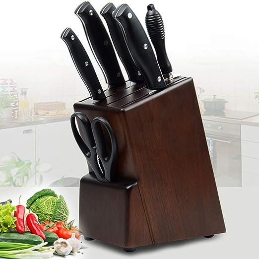 Compra WLWWY Porta Cuchillos De Cocina con Bloque Cuchillo ...