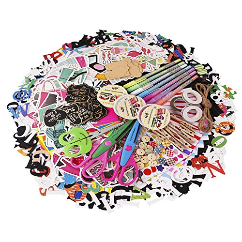SICOHOME Scrapbook Supplies,Card Making Supplies for Teen Girls,Scrapbooking and Card Making