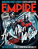 Empire Magazine UK July issue 2018 Cover :- Antman & Wasp + Magazine cafe Bookmark