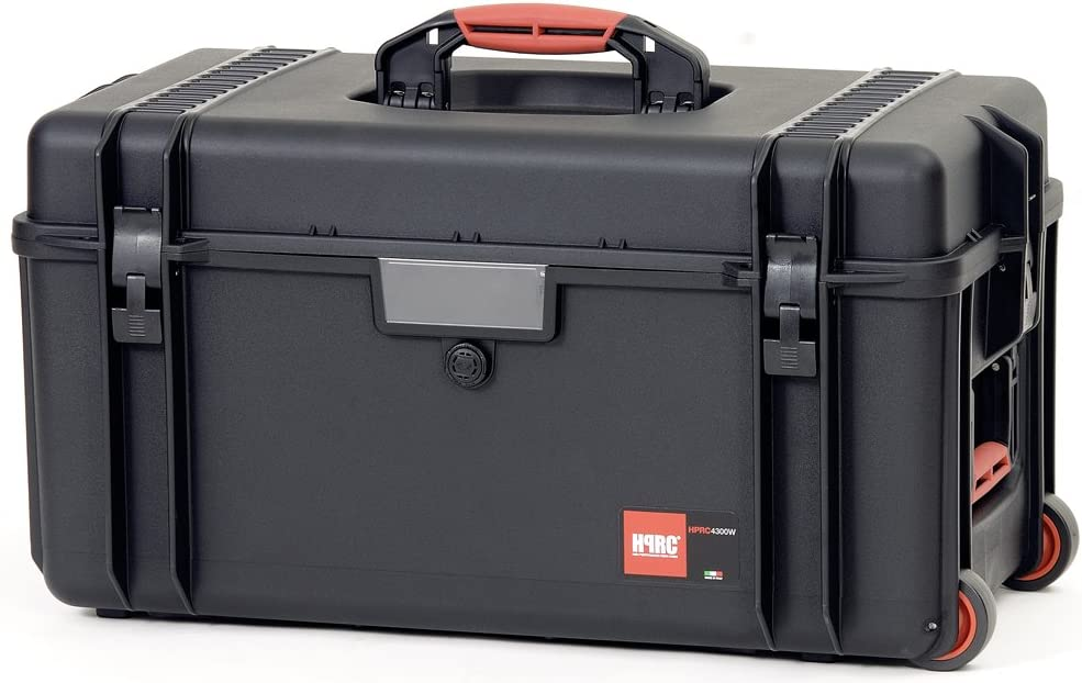 Black HPRC HPRC4300WEBlack 4300 Series Empty Wheeled Hard Case