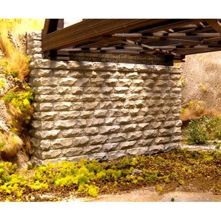 Chooch Enterprises HO Scale Double Cut Stone Bridge Abutment (Cut Stone Bridge)