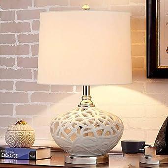 Lámpara de mesa JFHGNJ Lámpara de mesa moderna Sala de estar ...