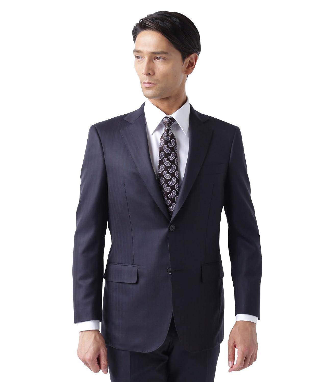 NEWYORKER(ニューヨーカー)【最高級仕上げ/AGING CLOTH】カラードストライプスーツ(2ボタンノータック) B076H2MXY8   A4