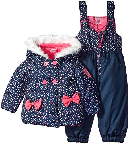 us-polo-assn-baby-girls-floral-print-double-breasted-puffer-jacket-and-snow-pant-navy-12-months