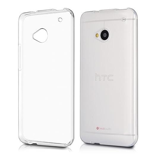 36 opinioni per kwmobile Cover per HTC One M7- Custodia in silicone TPU- Back case protezione