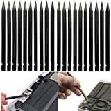 20pcs Precision Repair Set Tools Kit Nylon Plastic Pry Spudger Pick Probe Compatible with: Apple iPad, iPhone Xs, Xr, Xs Max, iPhone 8,7,6,6s,4,5,5c,5s Plus, iPad Air ,Samsung, LG,Note,Tablet,Notebook