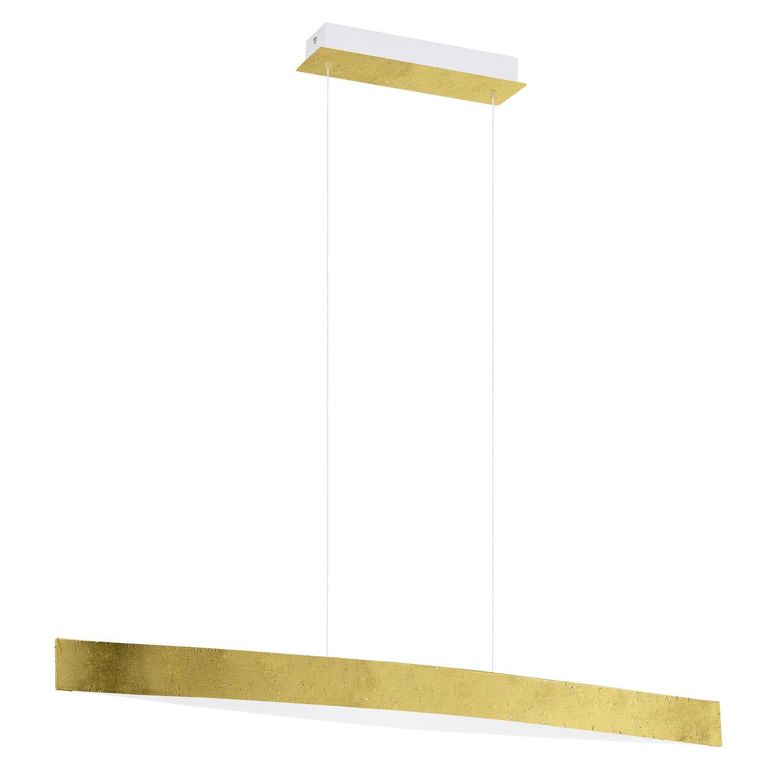 EGLO 93341 93341 93341 A, Hängeleuchte, Stahl, Integriert, Gold Weiß, 97 x 8.5 x 110 cm 8b2e22
