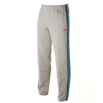 4db942049 adidas Essentials 3 Stripe Mens Fleece Pants XXL Grey  Amazon.co.uk  Sports    Outdoors
