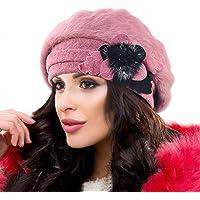 Ruphedy Barett damer basker ull beanie mössa varm vintermössa Hy022