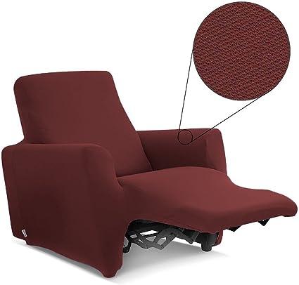 Biancaluna Copripoltrona per Poltrone Reclinabili Relax Genius Lounge Copridivano 1 Posto Dover