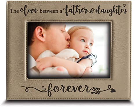 flowers in December Father/'s Day gift Dad personalized picture frame first Father/'s Day Dad daddy from child from baby