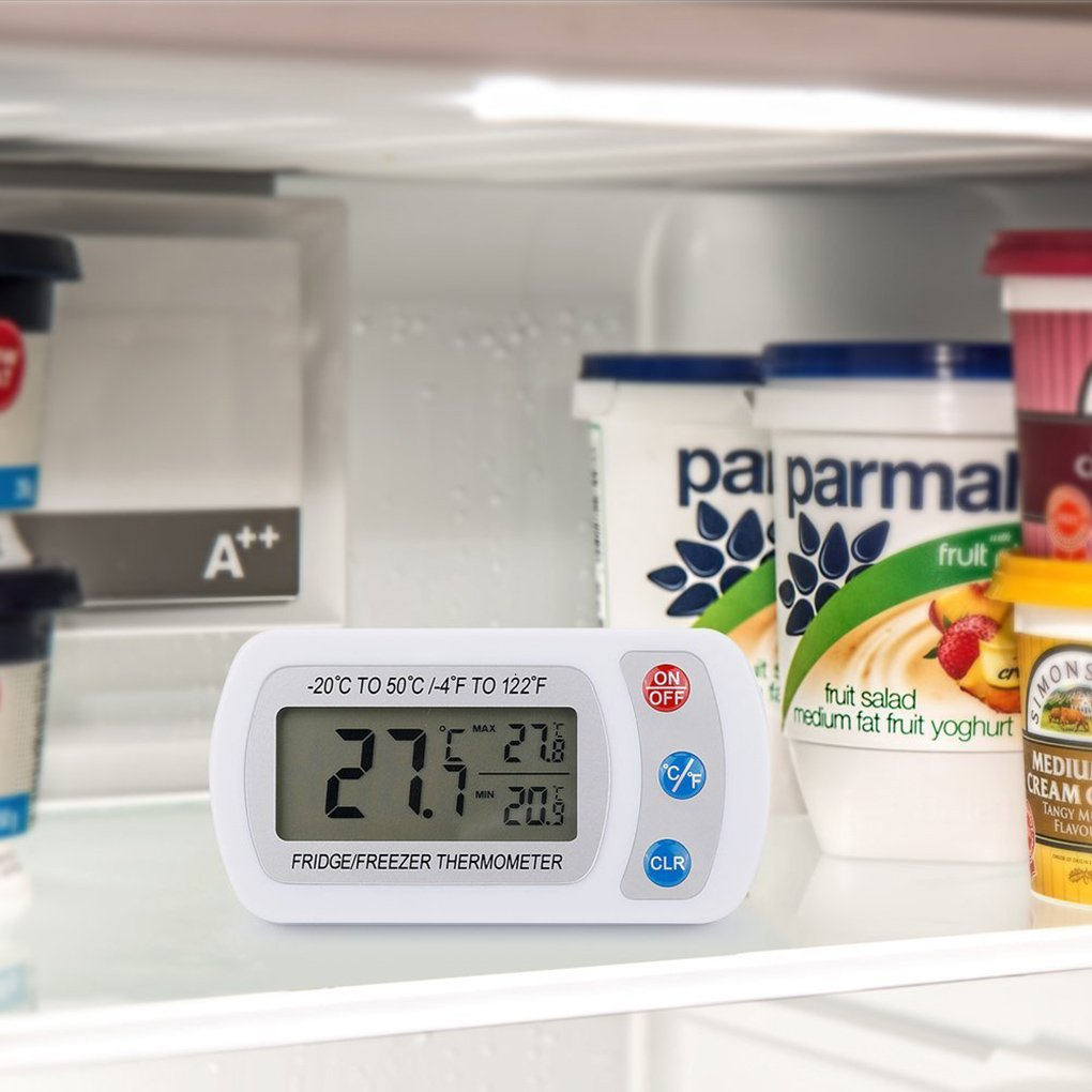 Laileya LCD 20 ℃ 50 ℃ Digital Frigorifero Hanging congelatore Camera termometro impermeabile