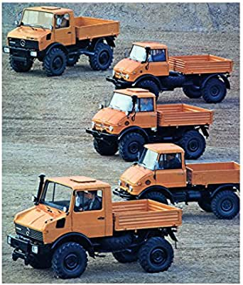 Amazon.com: 1981 Mercedes Benz Unimog U1700 1500 1100 1300 ...