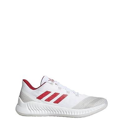 037c4be6a7c3 adidas B E 2 Shoe - Men s Basketball 4.5 White Power Red