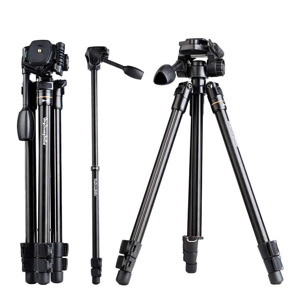 CameraTripod、キャリーバッグ付き軽量アルミ合金製のBWORPPYポータブルトラベル三脚 B07GWF9PZN
