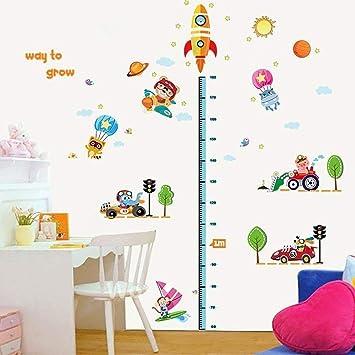 HXY 3D Wallpaper Transport Niedlich Tierhöhe Aufkleber Kinderzimmer  Dekoration Kindergarten Schultapete Schlafzimmer Aufkleber Buy Two Get