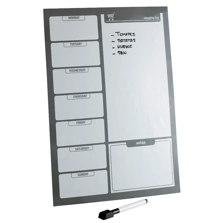 Top Home Solutions - negro lista de la compra magnéticos para la ...
