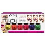 OPI True neon Truneon estate Brights mini nail polish kit, 6-count