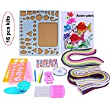 Lesirit Paper Quilling DIY Craft Kit Board Mould Crimper Comb Tools (A)