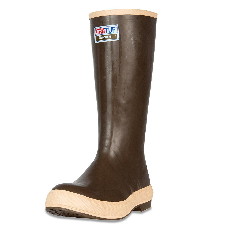 Xtratuf Men's Legacy 2.0 Plain Toe 15 in Copper/Tan Size 13 Fishing Boot